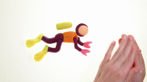 Play-Doh Creative Inspiration - Scuba