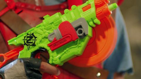 Nerf Zombie Strike Crosscut Blaster Commercial