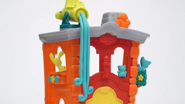 Play-Doh Town Firehouse Demo