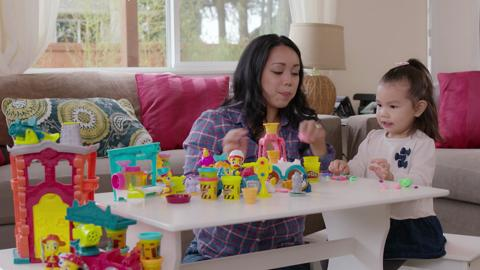 Play-Doh Town Playset Unboxing Video feat. Influencer - ItsJudyTime