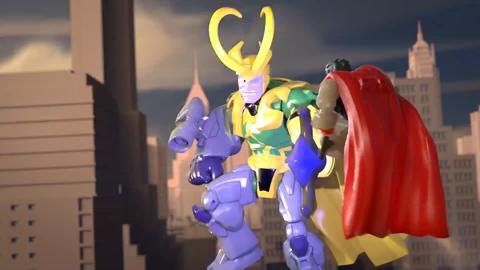 Marvel Super Hero Mashers: Earths Tiniest Titans