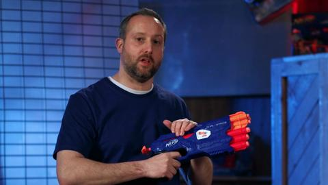 BEHIND THE BLASTER | NERF DUAL-STRIKE BLASTER