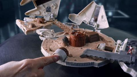 Star Wars The Force Awakens Micro Machines Millennium Falcon TV Commercial