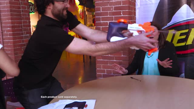 SUPER SOAKER H20PS TESTING DAY AT NERF HQ