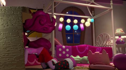 MLP Equestria Girls Minis - Pinkie Pie Slumber Party ft. Pinkie Pie