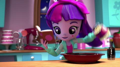 MLP Equestria Girls Minis - Pinkie Pie Slumber Party ft. Twilight Sparkle