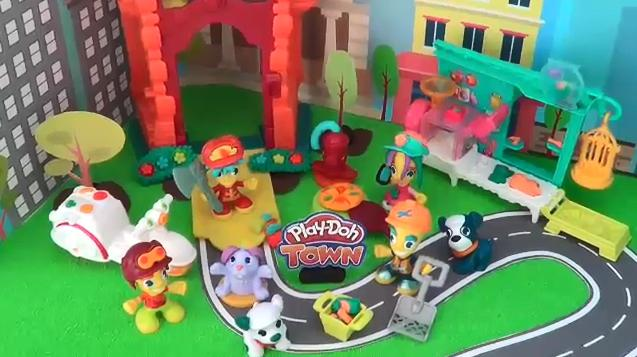 Play-Doh Town YouTube Influencer Video: SuperCool4Kids.