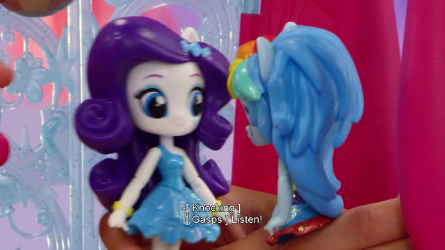 MLP Equestria Girls Minis Toys - Full Canterlot High Dance Playset