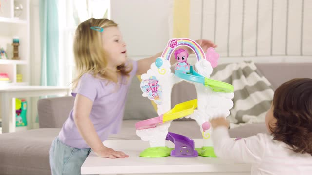 PLAYSKOOL FRIENDS  MY LITTLE PONY  RIDE 'N SLIDE RAMP DEMO