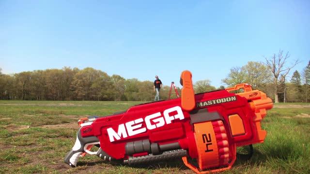 Nerf Mega Mastodon | Behind the Blaster