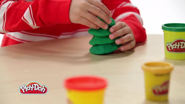 PLAY-DOH | LOOK WHAT I MADE! | HOW-TO | CHRISTMAS TREE