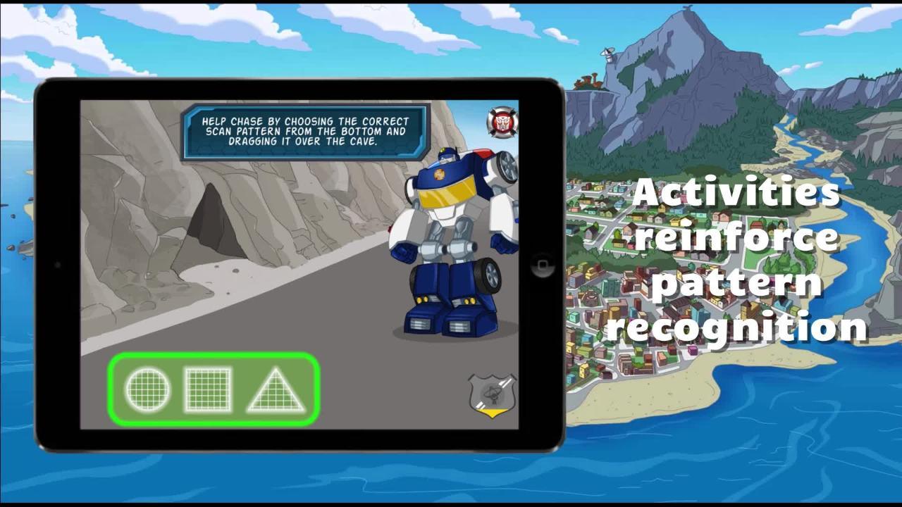 Transformers Rescue Bots: Save Griffin Rock App Tease