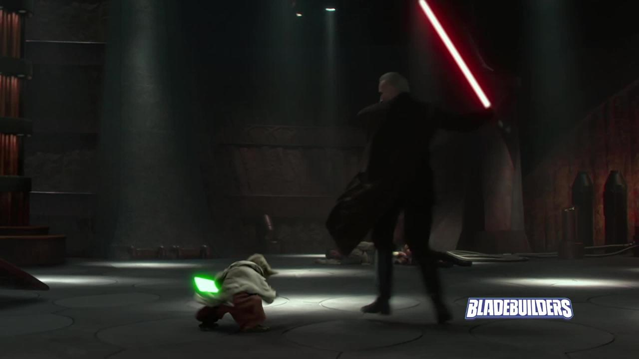 Star Wars Bladebuilders | Yoda Lightsaber