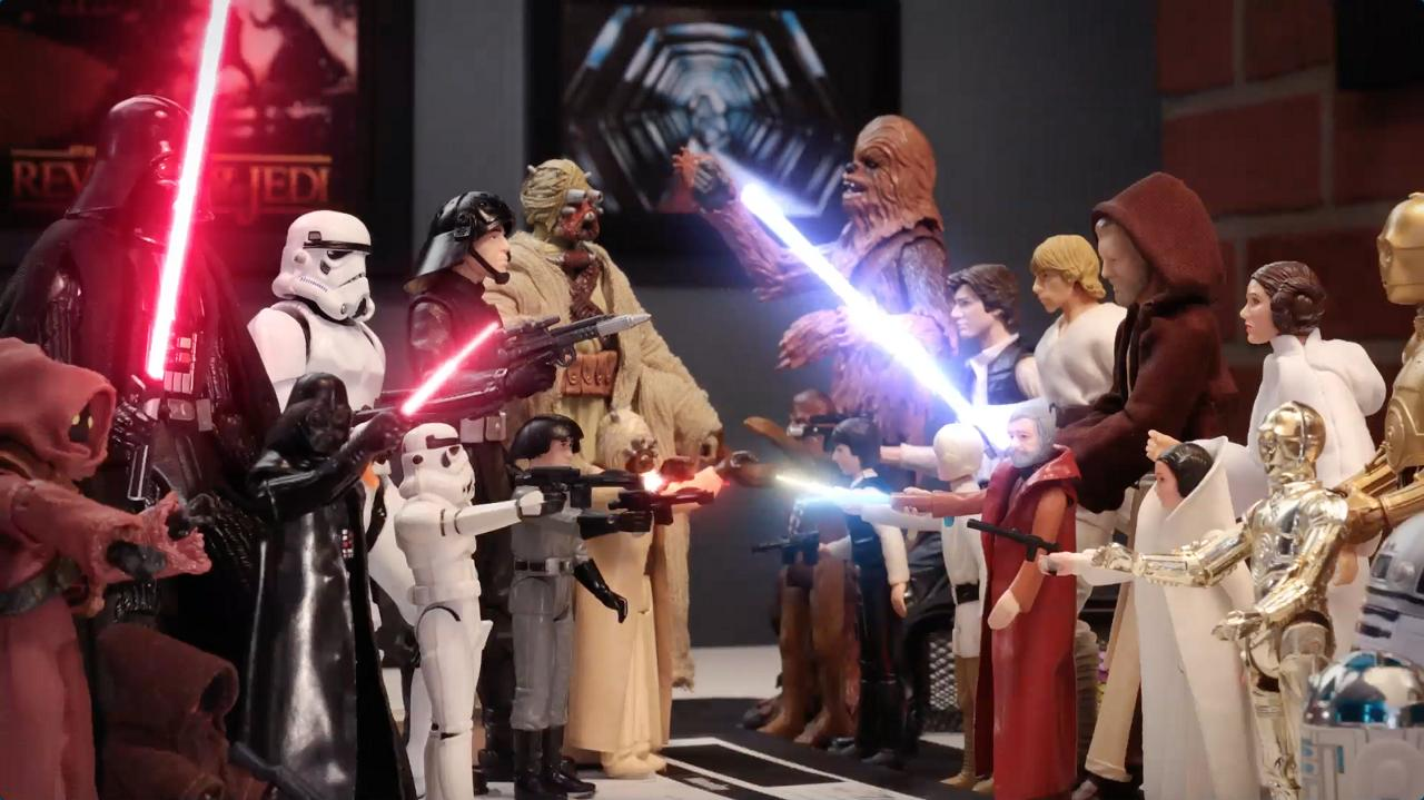 STAR WARS BLACK SERIES | 40TH ANNIVERSARY FIGURES