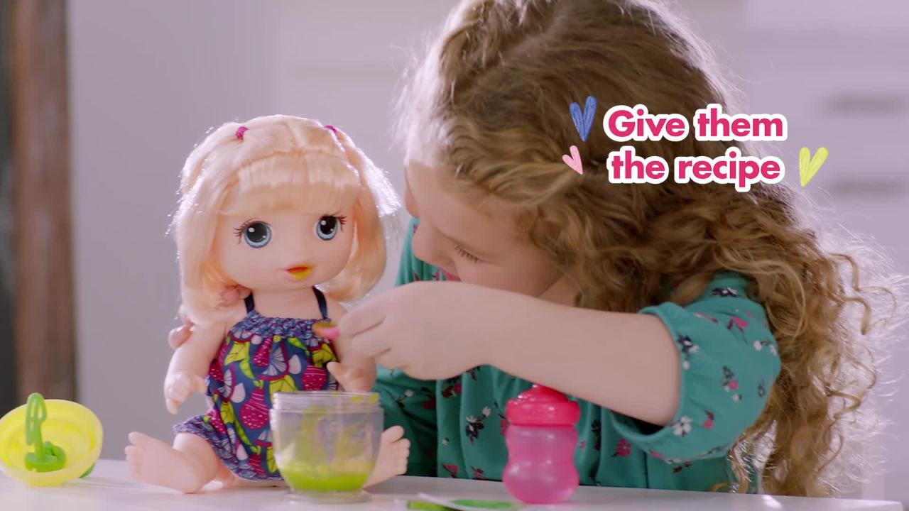BABY ALIVE SWEET SPOONFULS OFFICIAL TV SPOT #2
