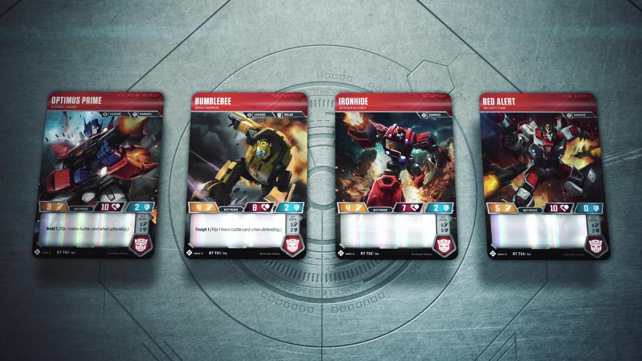Starten: Begin het spel met de Autobots Starterset!
