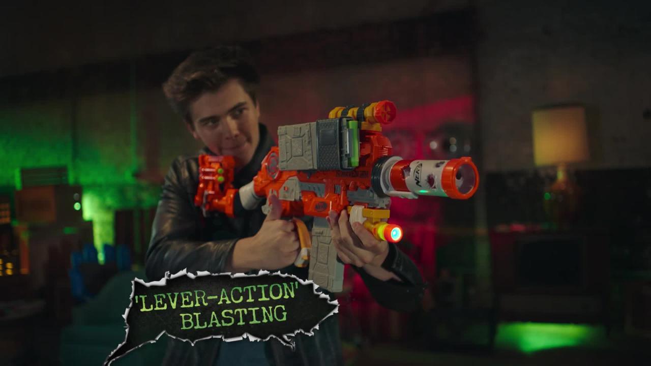 Nerf Zombie Strike Survival System: Scavenger Blaster