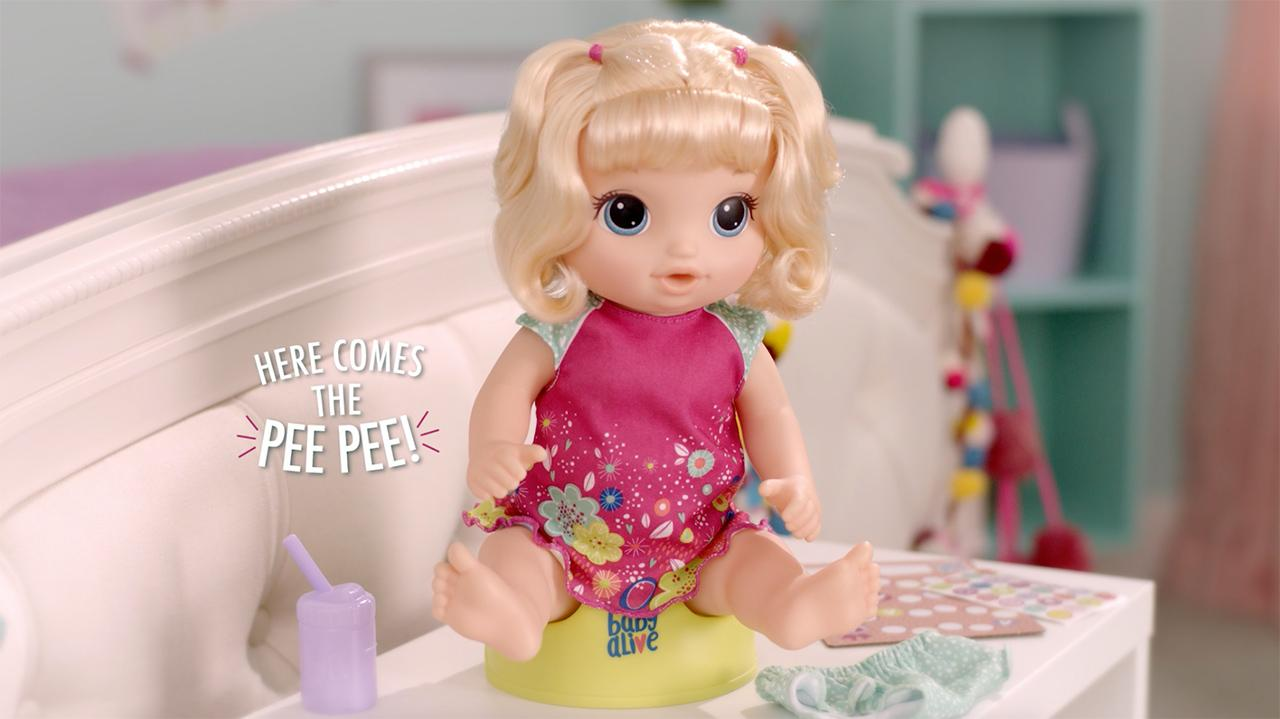 Baby Alive - 'Potty Dance Baby' Official TV Spot