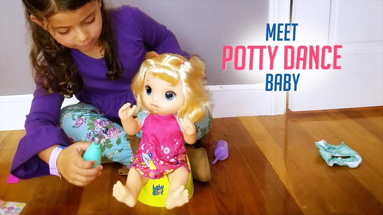 Baby Alive - 'Potty Dance Baby' Official TV Commercial