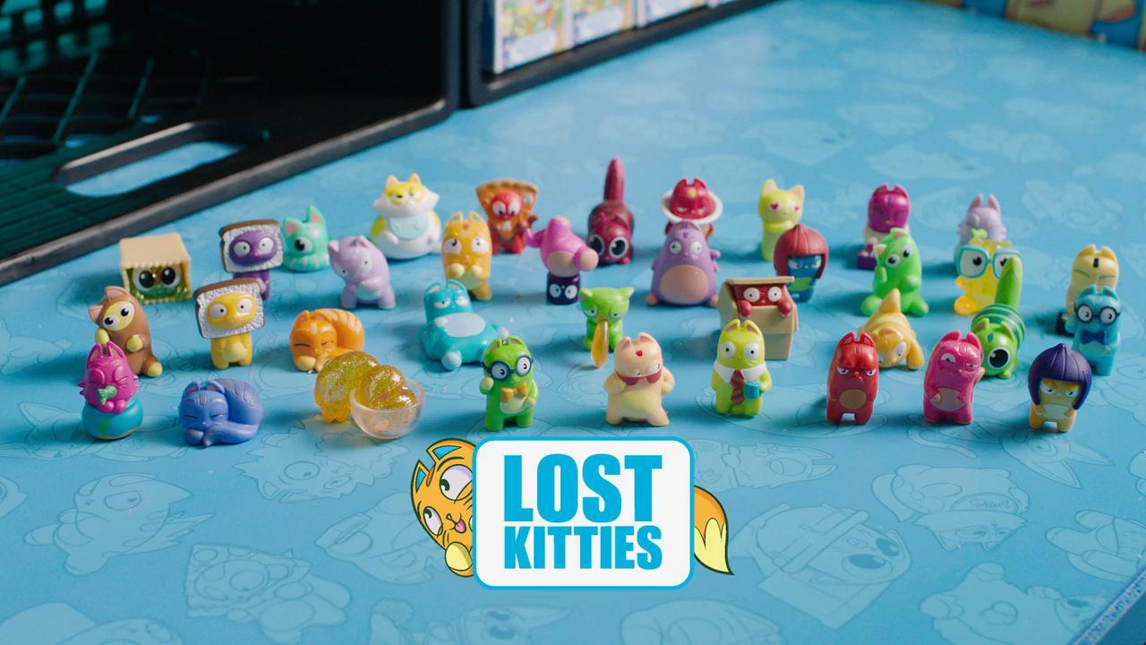 Lost Kitties Unboxing