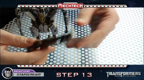 STARSCREAM TRANSFORMERS Movie 3 - Instructional video
