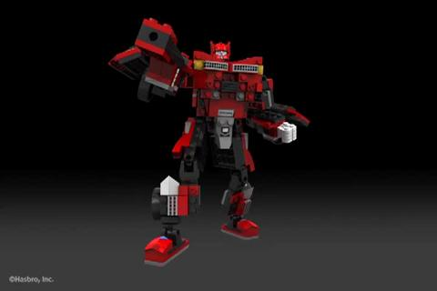 SIDESWIPE - KRE-O TRANSFORMERS Digital Build