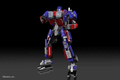 OPTIMUS PRIME - KRE-O TRANSFORMERS Digital Build