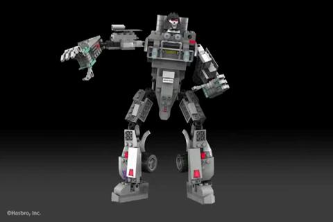 MEGATRON - KRE-O TRANSFORMERS Digital Build