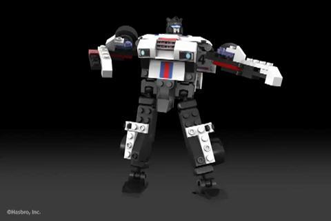 AUTOBOT JAZZ - KRE-O TRANSFORMERS Digital Build