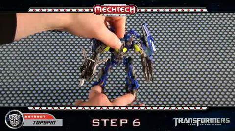 TOPSPIN TRANSFORMERS Movie 3 - Instructional Video