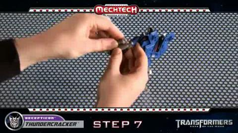 THUNDERCRACKER TRANSFORMERS Movie 3 - Instructional Video