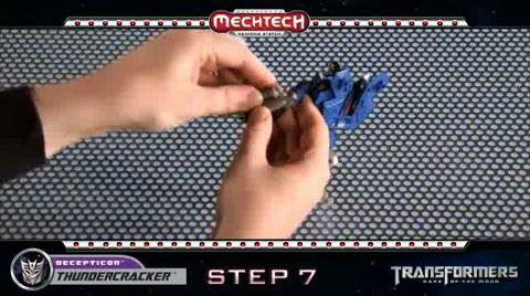 THUNDERCRACKER TRANSFORMERS Movie 3 - Instructional Video