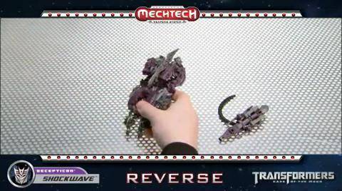 SHOCKWAVE TRANSFORMERS Movie 3 - Instructional Video