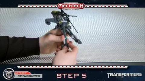 SKYHAMMER TRANSFORMERS Movie 3 - Instructional Video