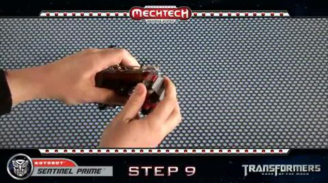 SENTINEL PRIME Voyager TRANSFORMERS Movie 3 - Instructional Video