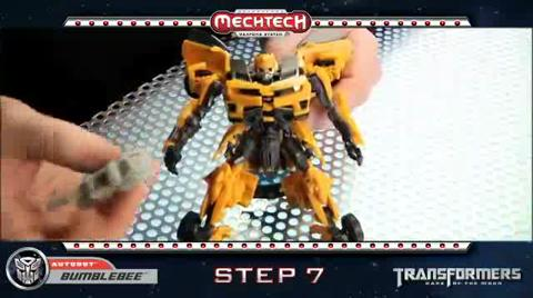 BUMBLEBEE TRANSFORMERS Movie 3 - Instructional Video