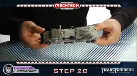 MEGATRON TRANSFORMERS Movie 3 - Instructional Video