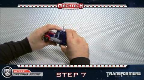 OPTIMUS PRIME TRANSFORMERS Movie 3 - Instructional Video