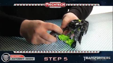 AUTOBOT SKIDS TRANSFORMERS Movie 3 - Instructional Video