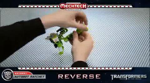 AUTOBOT RATCHET TRANSFORMERS Movie 3 - Instructional Video