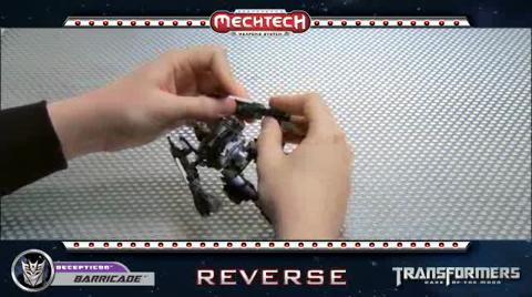 BARRICADE TRANSFORMERS Movie 3 - Instructional Video