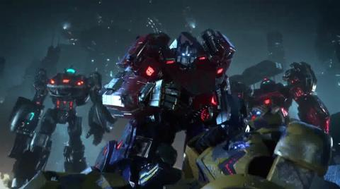 Transformers Fall of Cybertron Video Game Cinematic Trailer