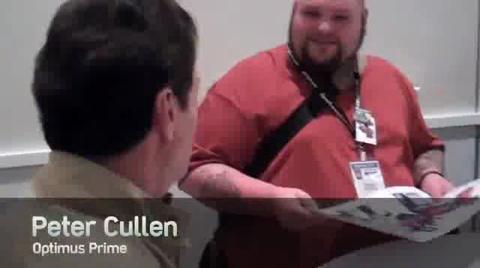 BotCon 2011 Cast of TRANSFORMERS PRIME