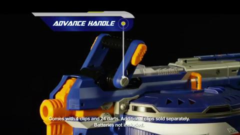 Nerf N-Strike Elite Hail-Fire Teaser Video