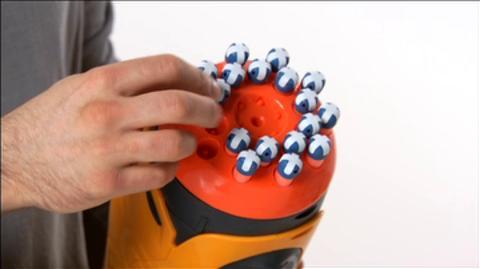 NERF Dart Tag Swarmfire Blaster Product Demo Int'l