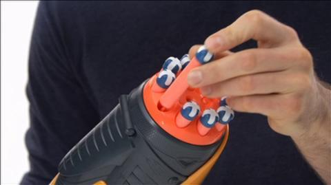 NERF Dart Tag Speedswarm Blaster Product Demo Int'l