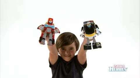 Playskool Heroes Transformers Rescue Bots Demo Video