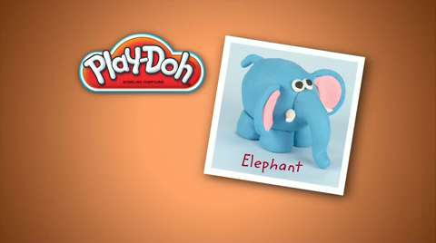 Play-Doh Look What I Made Elephant Video