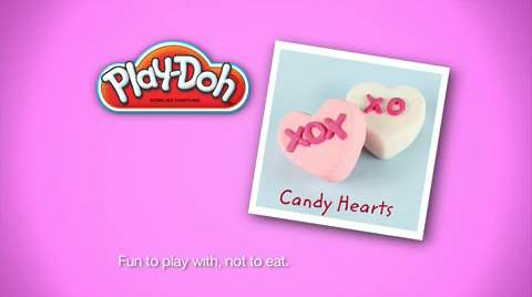 Play-Doh Look What I Made Conversation Heart Video