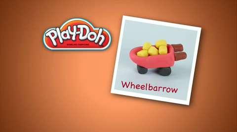 Play-Doh Look What I Made Wheelbarrow Video